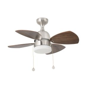 Ventilatore da soffitto con luce Mediterraneo 33706